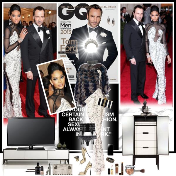 MET Gala 2012: Chanel Iman