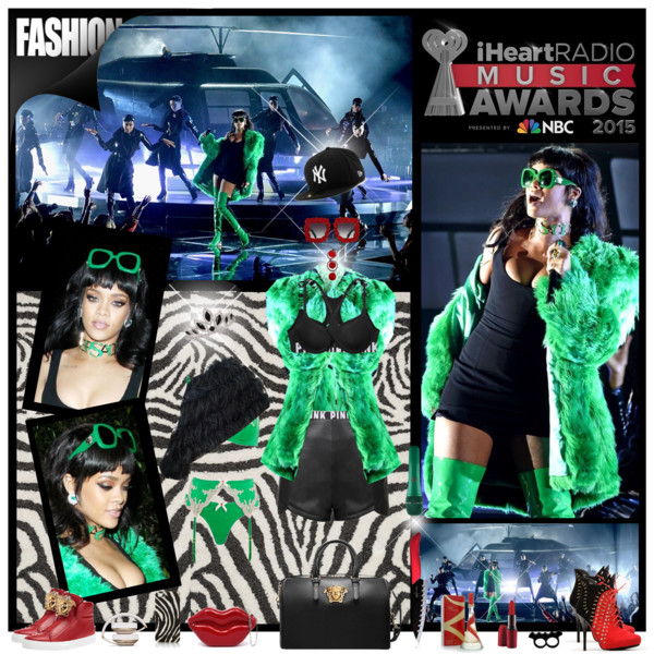 Rihanna performs LIVE at 2015 iHeartRadio Music Awards
