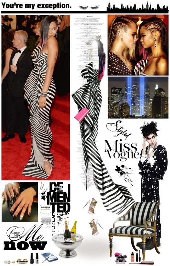 MET Gala 2013: Chanel Iman